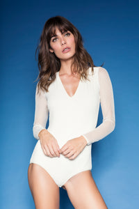 Body Saturno Off White - ava intimates
