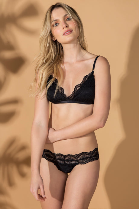 Top Nyos - Preto - ava intimates