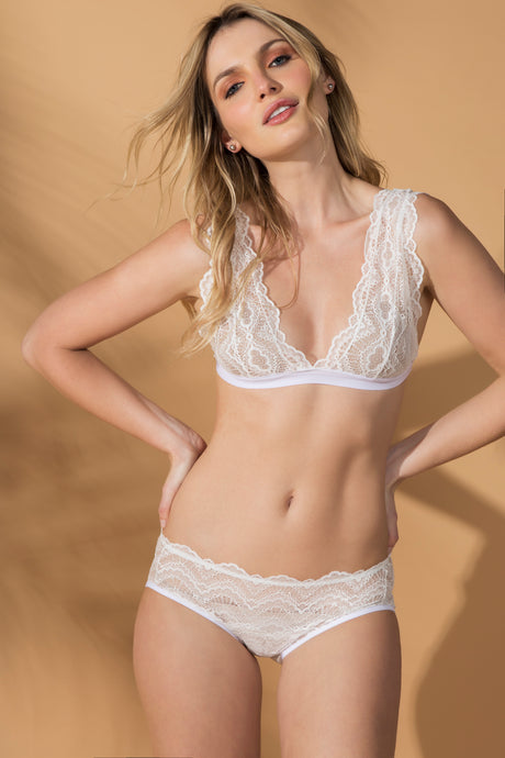 Calcinha Gaz - Off White - ava intimates