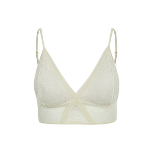 Top Lua Cheia Off White - ava intimates
