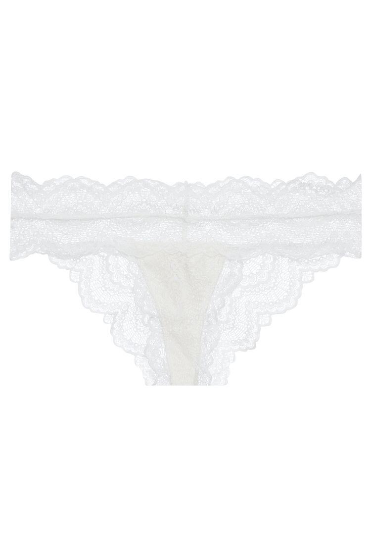 Calcinha Creta - Off White - ava intimates