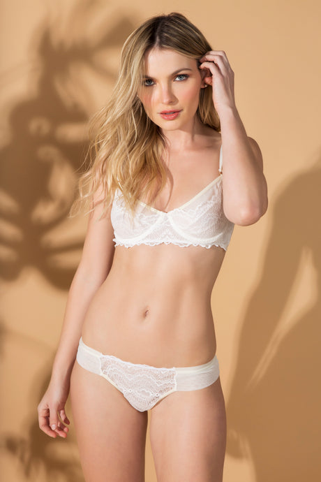 Calcinha Kivu - Off White - ava intimates