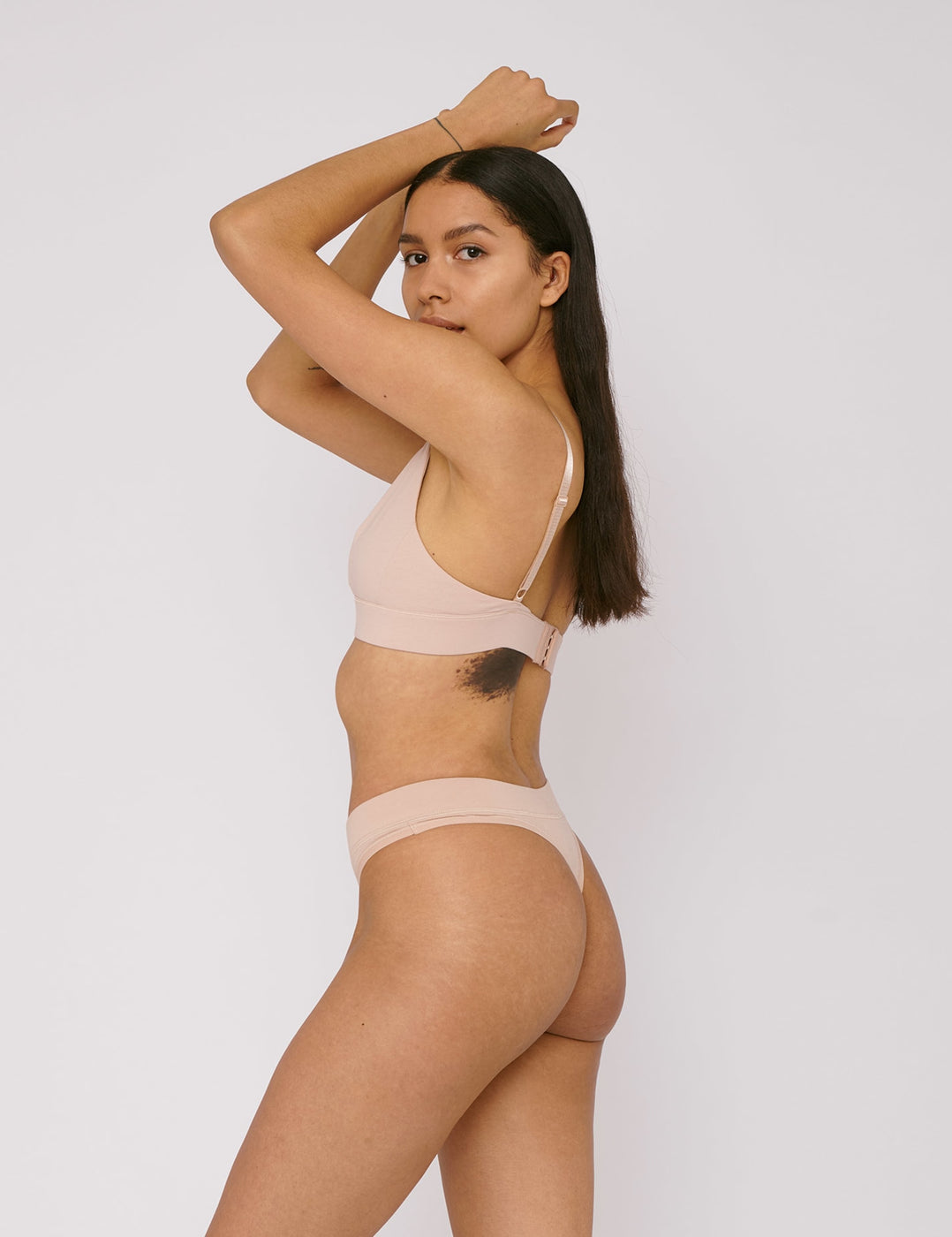 Organic Cotton Thong 4-pack
