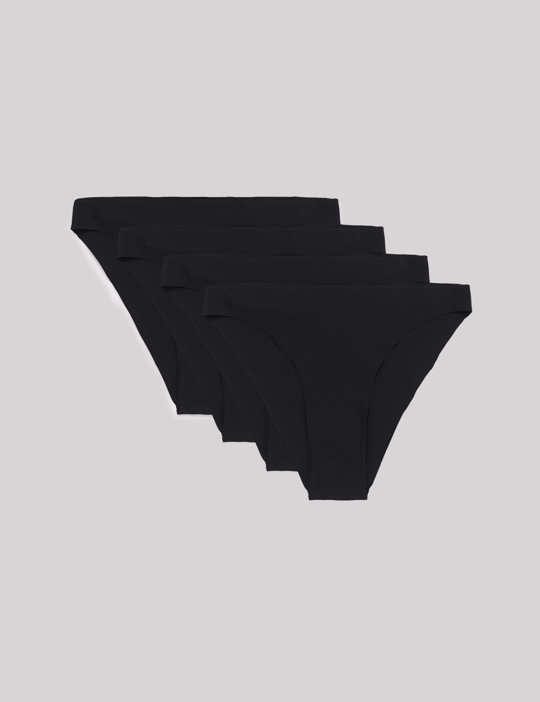 Invisible Cheeky 80s Briefs 4-pack