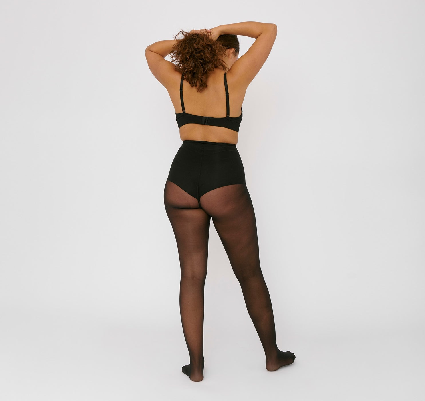 Re-Tights mit hohem Bund 20 Den 2er-Pack