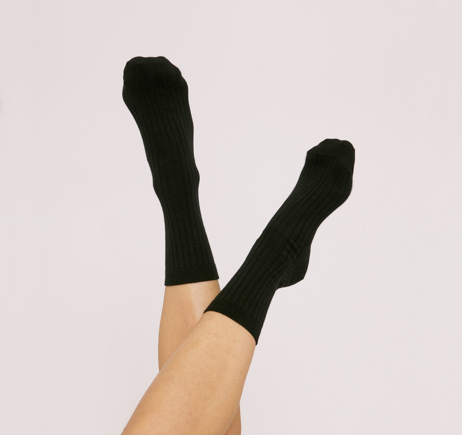 Organic Cotton Rib Socks 2-pack