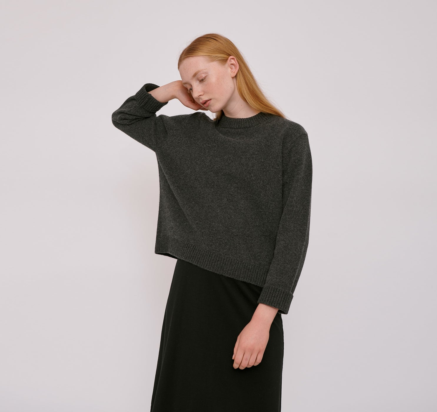 Recycled Wool Boxy Knit