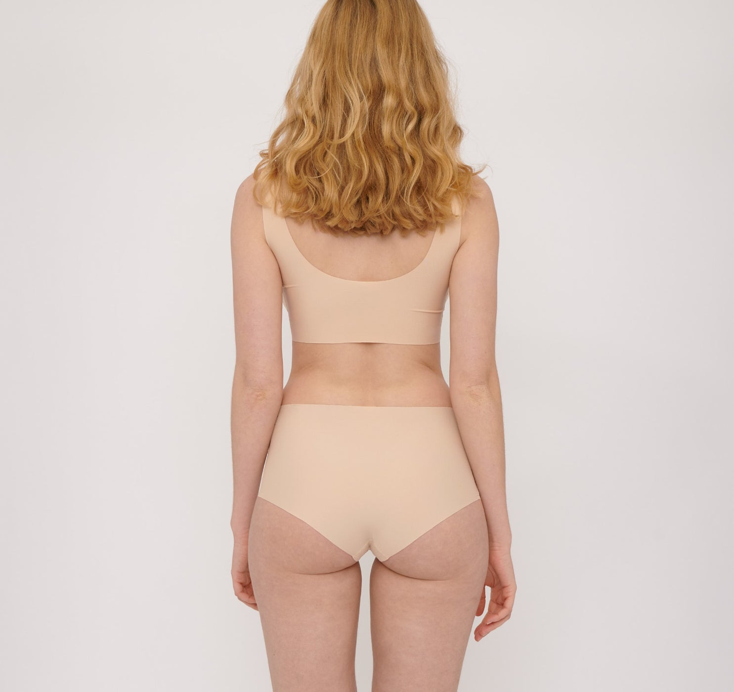 Invisible Cheeky Slips mit hohem Bund 4er-Pack