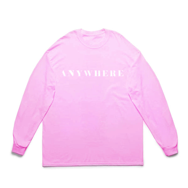 Anywhere Longsleeve Pink