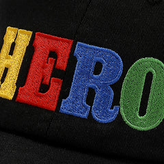 HERO CAP - BLACK