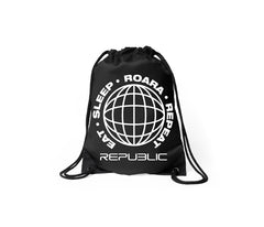 ROARA GYM SACK - BLACK