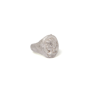 Cameo impression signet ring