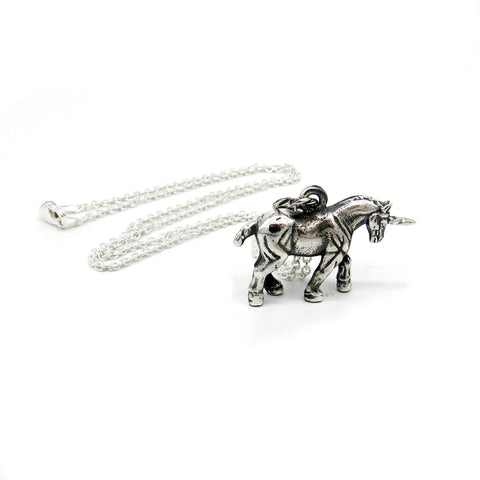 Awesome unicorn pendant