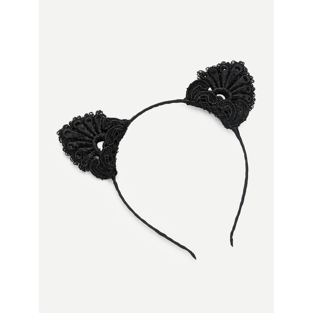 Black Cat Ears Headband – mad4pet 905f2e0330d1