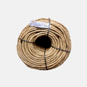 Cordón tipo enea natural 6-7mm  Simple. Bobina 3kg. 37.19€ + I.V.A. - Natkits