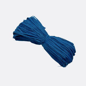 Rafia natural color Azul Royal  Madeja 50gr. 2.40€ + I.V.A. - Natkits