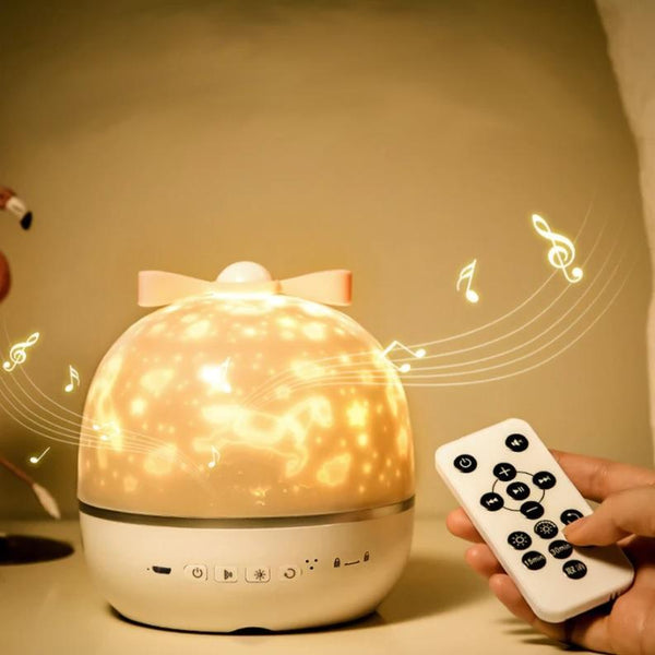 Luna lamp - Starry dynamic projector lamp