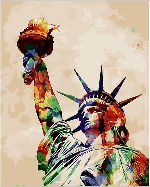 Paint by Numbers - Statue of Liberty