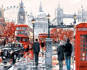 Paint by numbers - London City