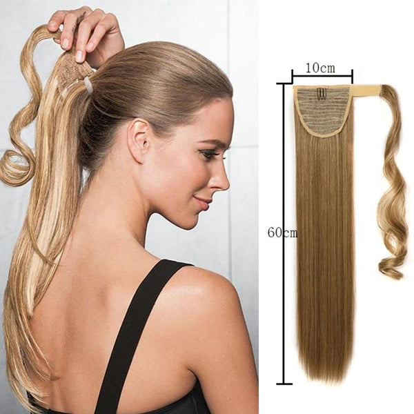 Elegant ponytail extension for every hair