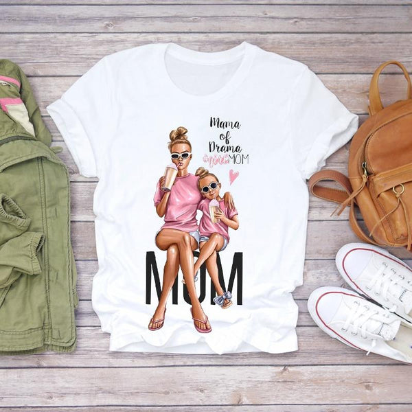 Super Mom Comic Mama T-Shirt
