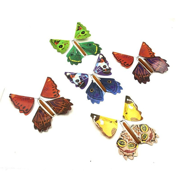 The magical flying butterfly (5 pieces)