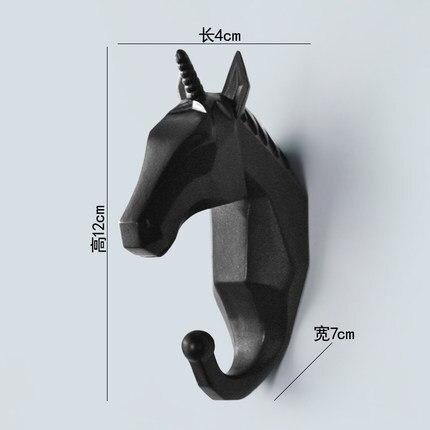 Nordic creative animal hooks for the wall