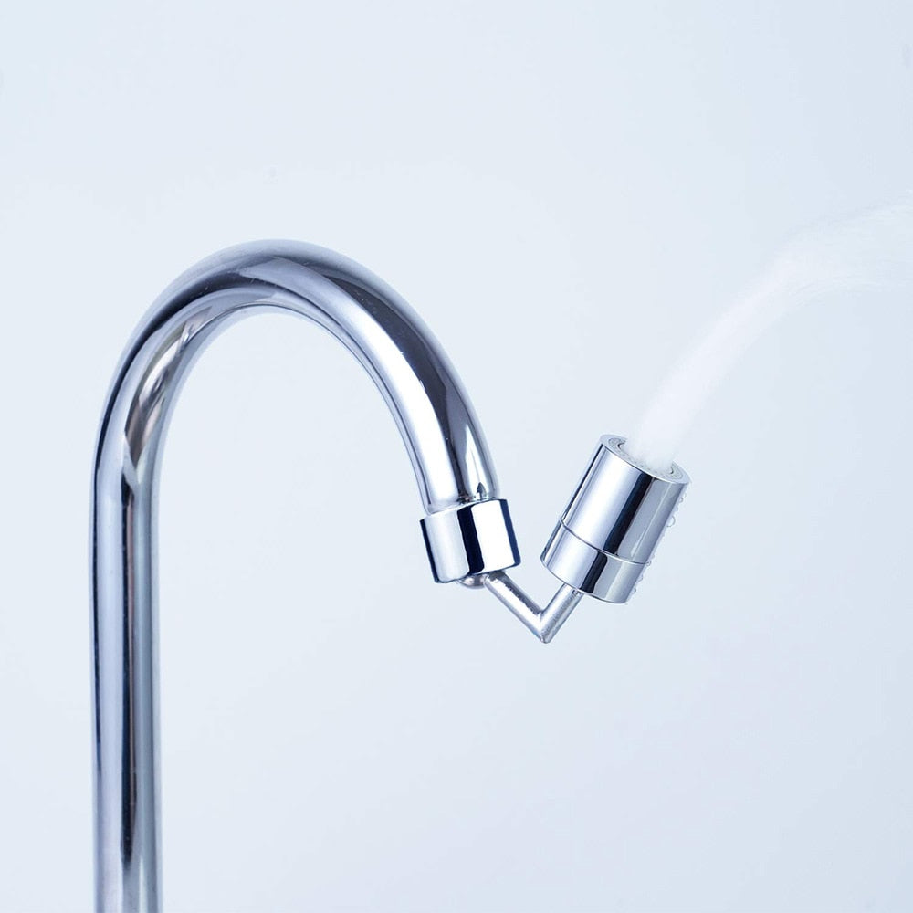 Flexible faucet attachment