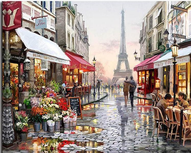Paint by numbers - Paris