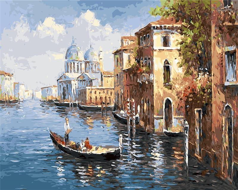Paint by numbers - Venice summer