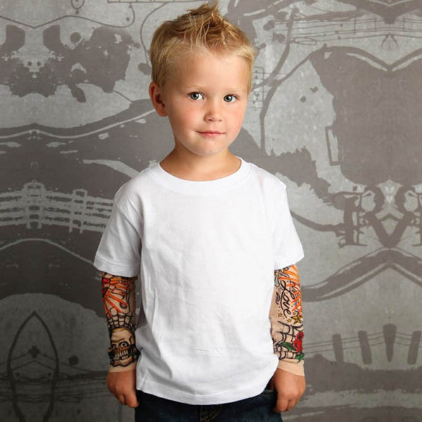 Kinder Tattoo Sleve T-Shirt