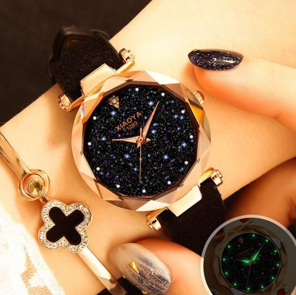 Starrysky starry sky ladies watch