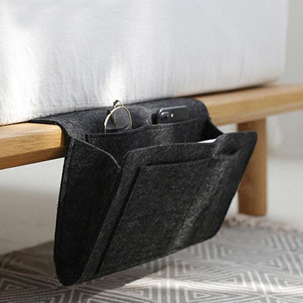 Hangable organizer for bed & sofa