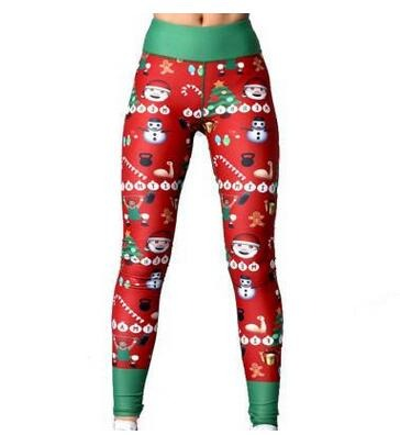 Funny Christmas leggings