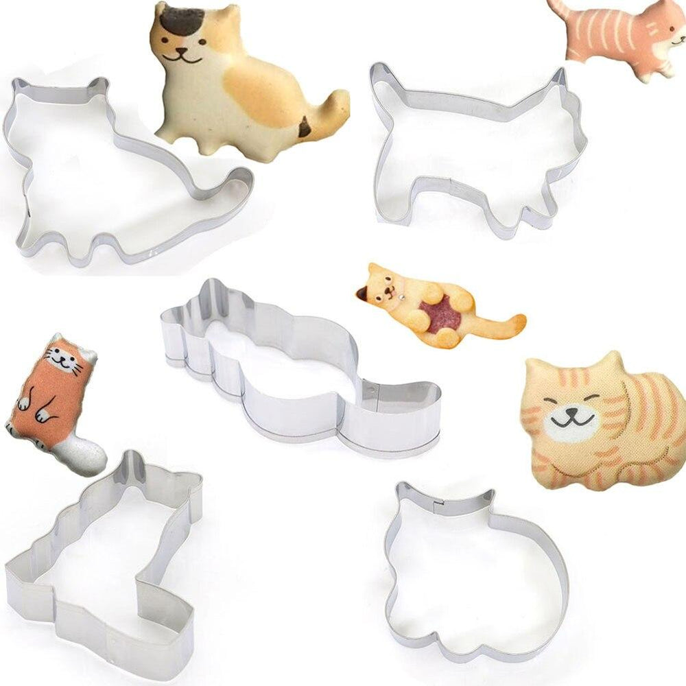 Cats Biscuit Cookie Cutter