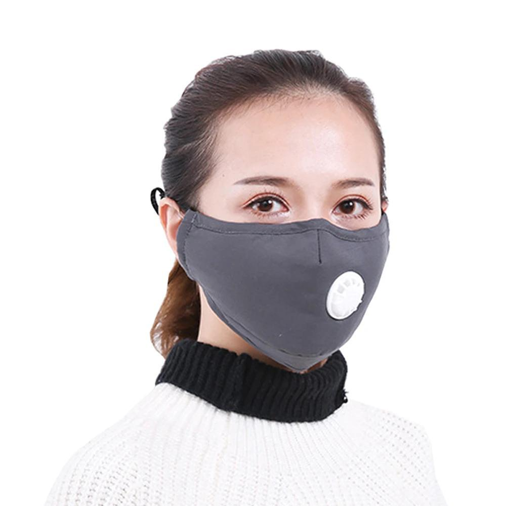 Washable respirator made of cotton