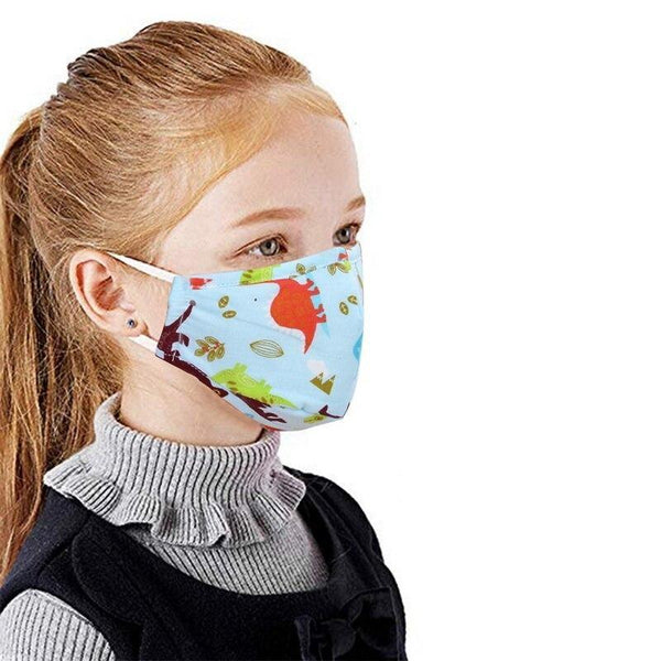 Washable respiratory protection mask for children made of cotton