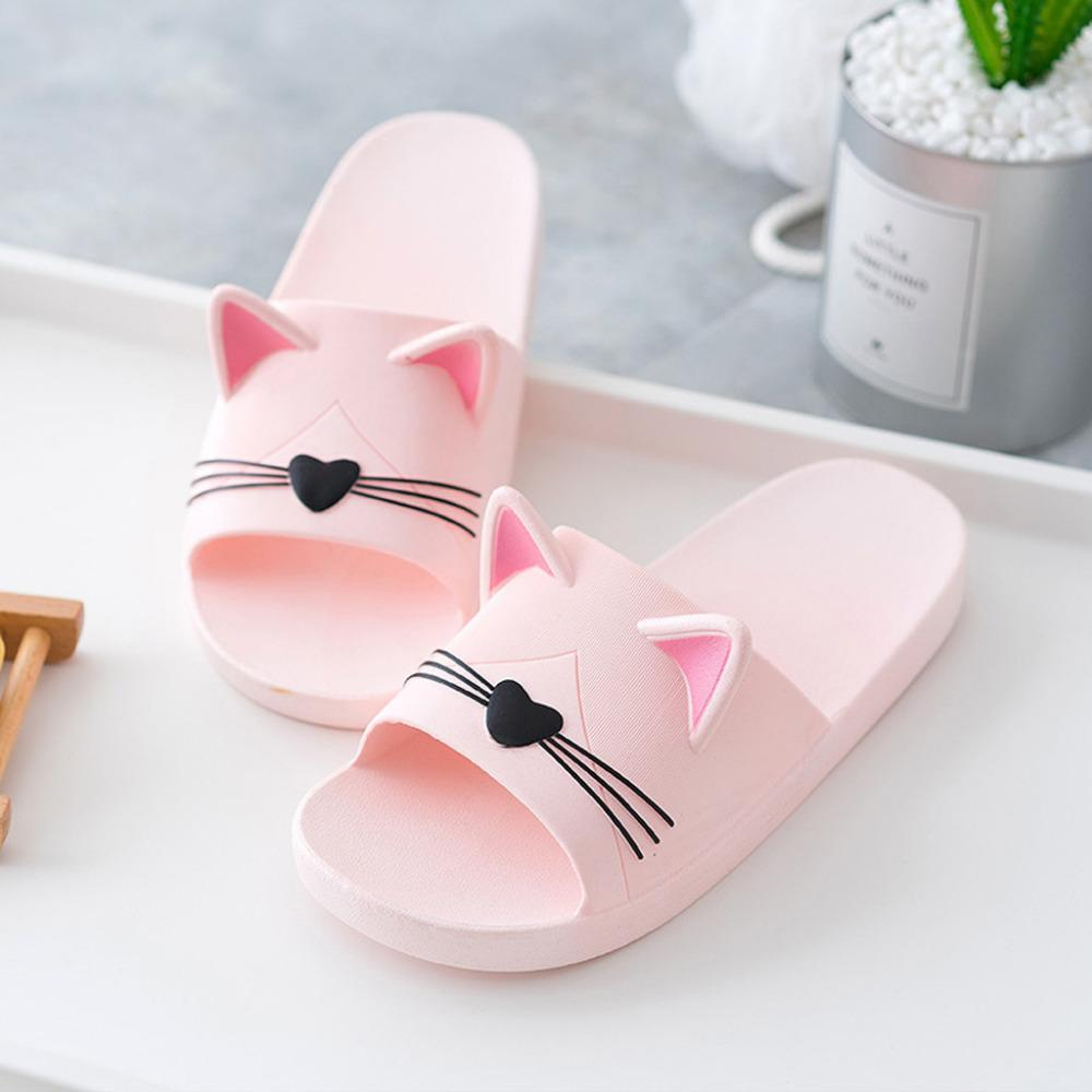 Flip-flops with cat ears