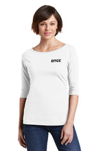 District Women's Perfect Weight  3/4-Sleeve Tee
