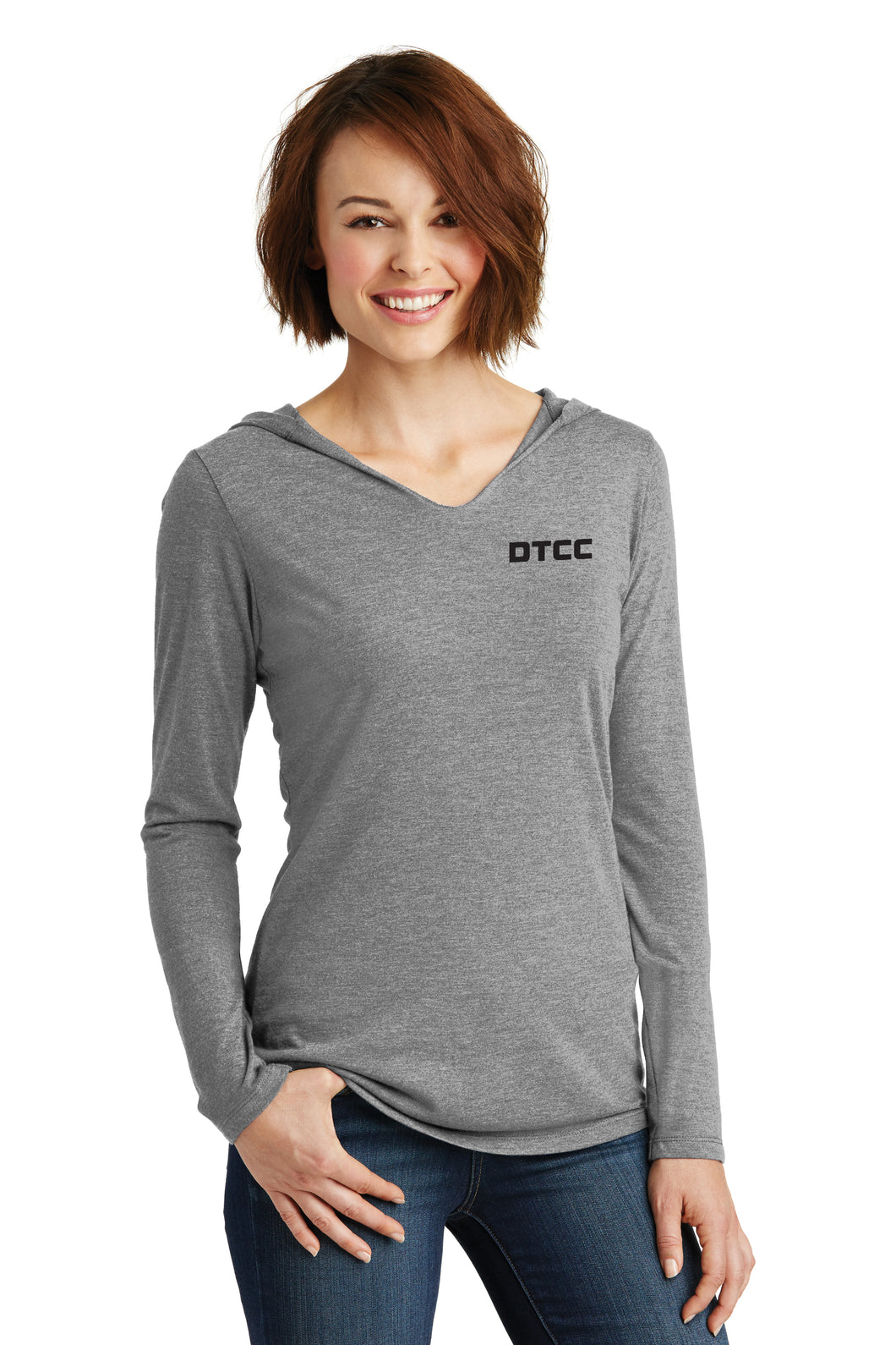 District ® Women's Perfect Tri  Long Sleeve Hoodie