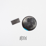 Moon Leather Snap Clip
