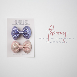 Monthly Subscription | Leather Bows