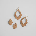September Scalloped Earrings