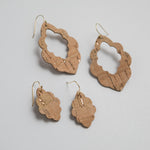 Mini Scalloped Earring