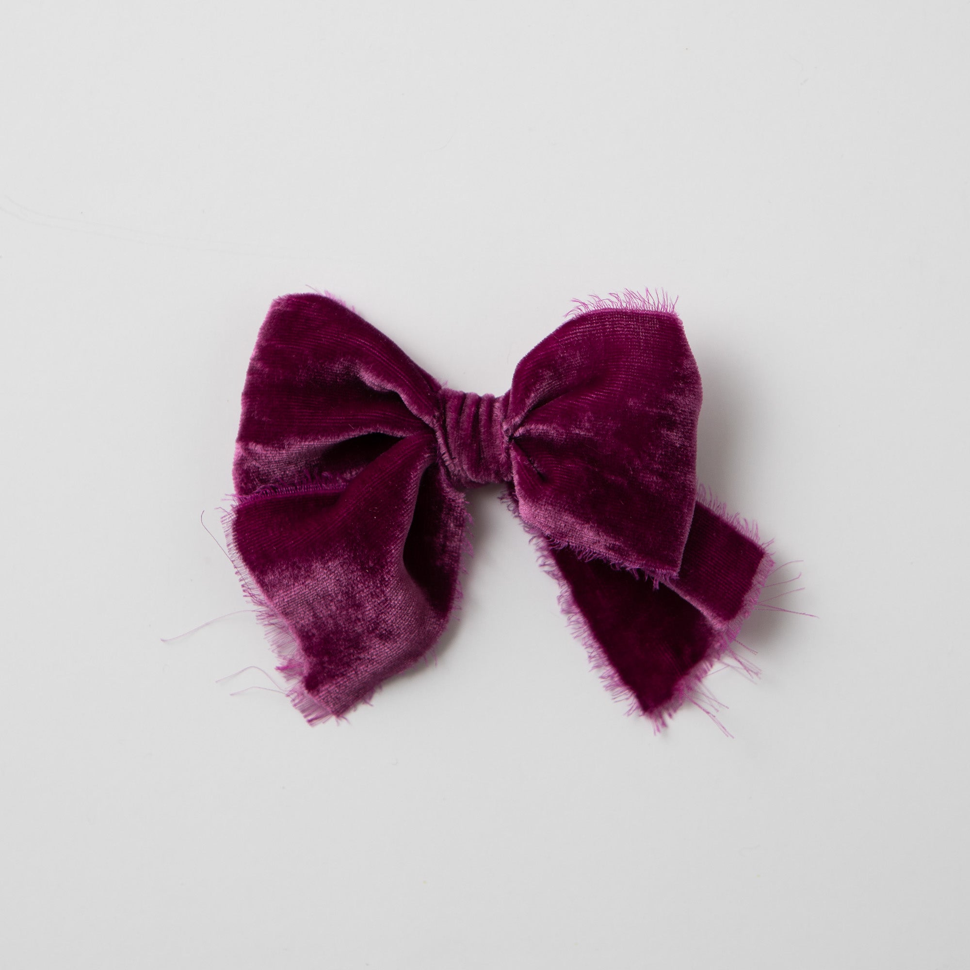 Hand Tied Velvet Bow (multiple color options)