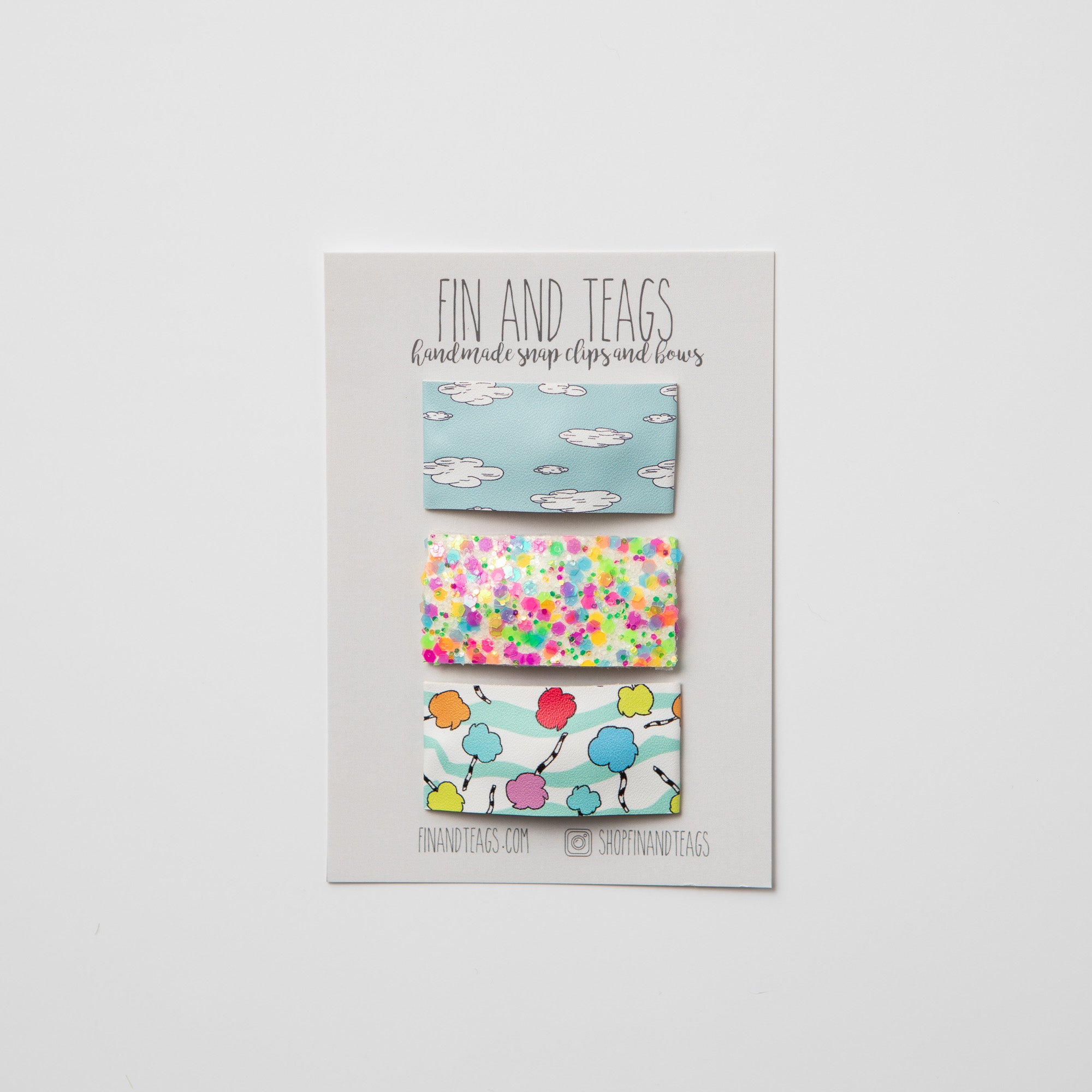 Truffula Clouds Clip Set