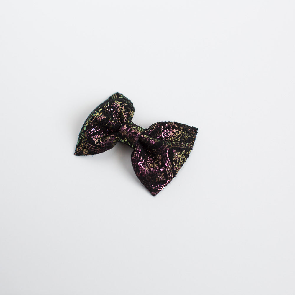 Haunted Walls Leather Bow