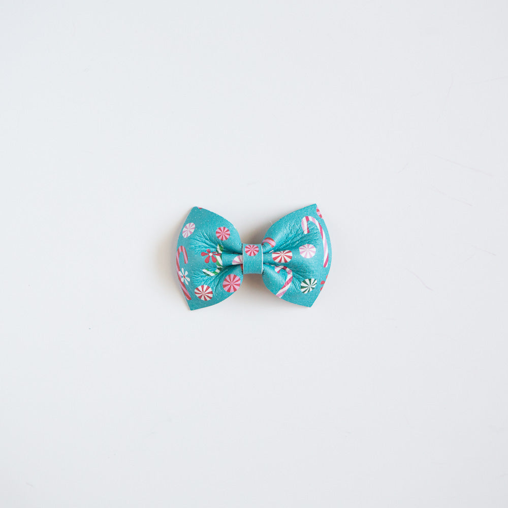 Land of Sweets Leather Bow