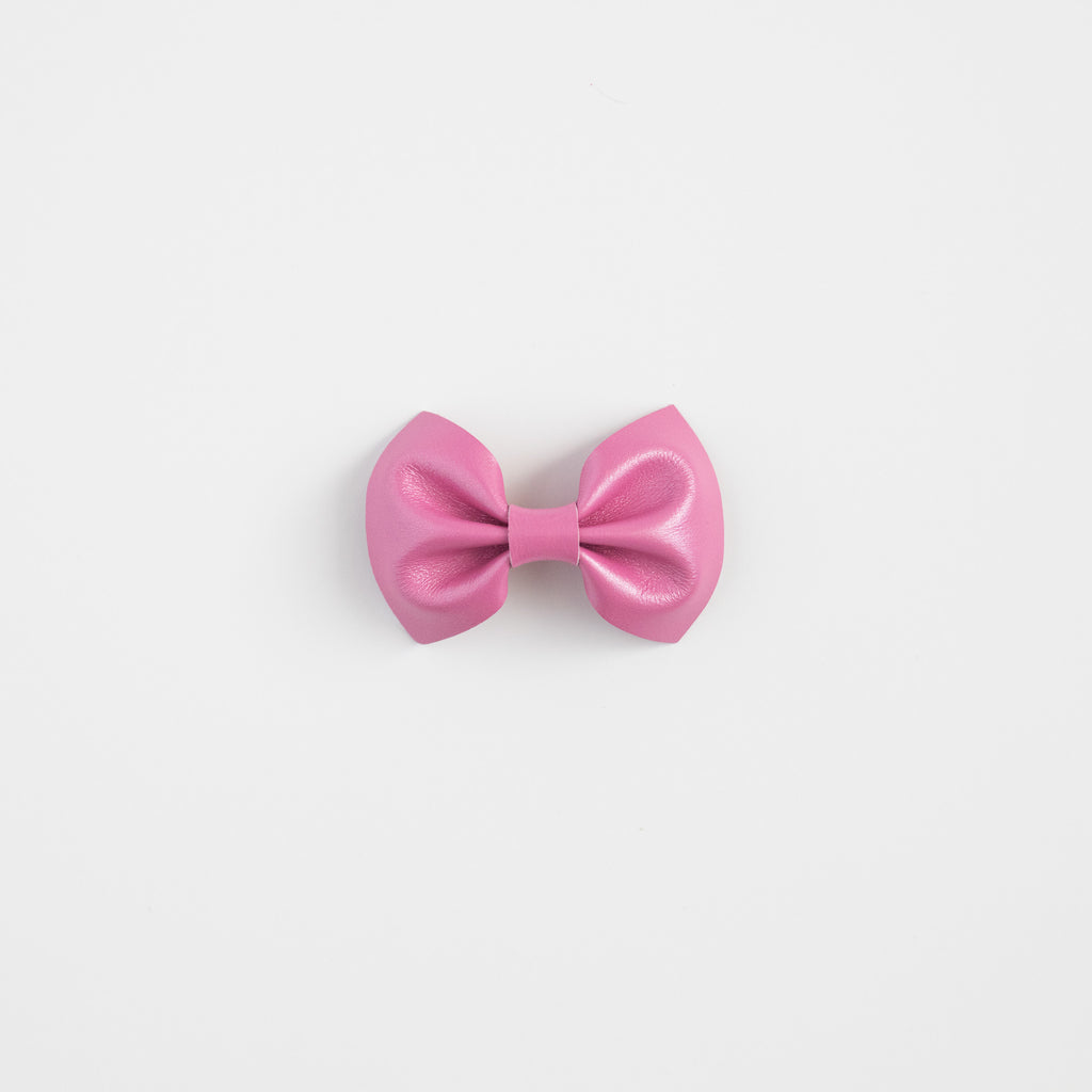 Love Shack Leather Bow