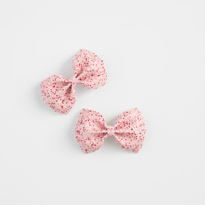 Valentine Collection Glitter Bows (more color options available)